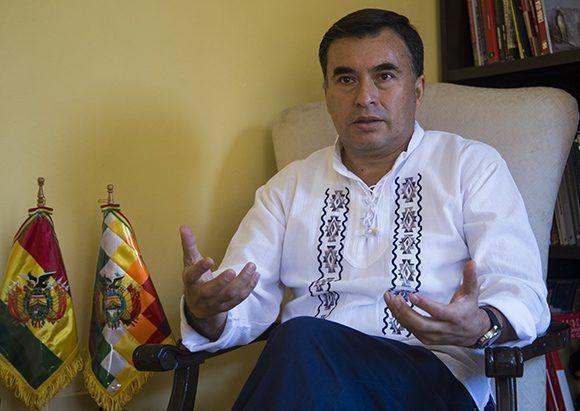 Juan Ramón Quintana. Foto: Irene Pérez/ Cubadebate.