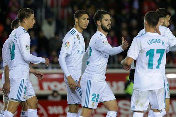 Isco entró en el segundo tiempo y marcó un gol de penal. Foto: AFP.