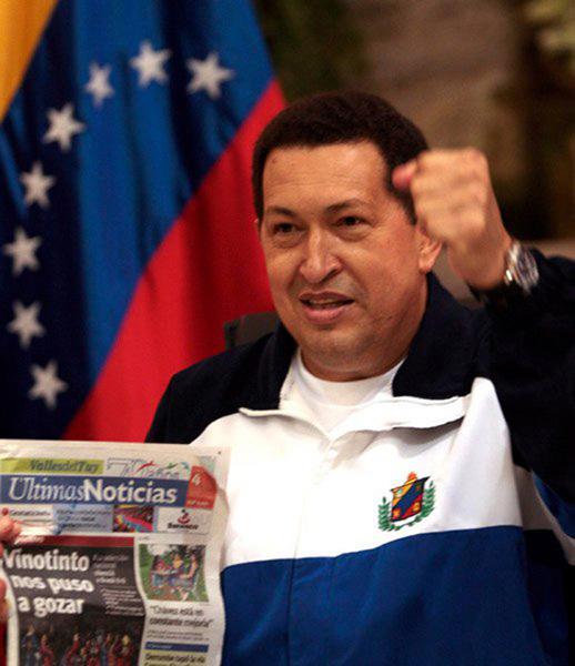 Chávez llega a Caracas despues de ser operado en Cuba. Foto: Ismael Francisco/ Cubadebate.