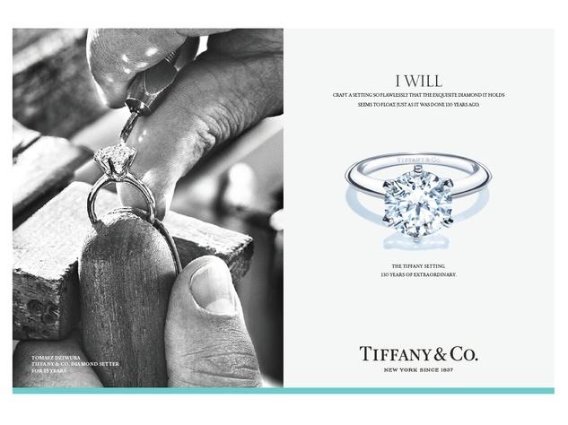 Tiffanys Celebrates Anniversary Of Engagement Ring Amid
