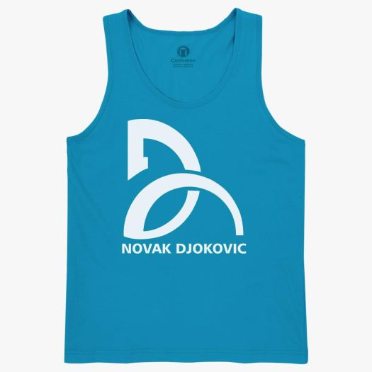 Novak Djokovic Logo Kids Tank Top - Customon