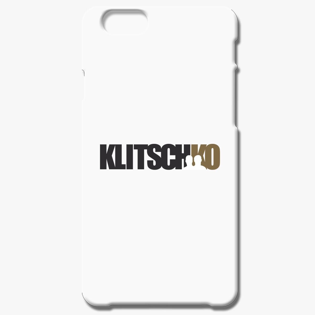 Witali And Wladimir Klitscko Iphone 6 6s Plus Case
