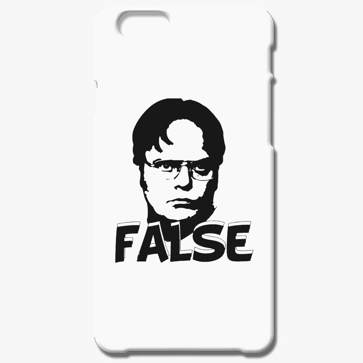 Dwight Schrute False Iphone 6 6s Plus Case