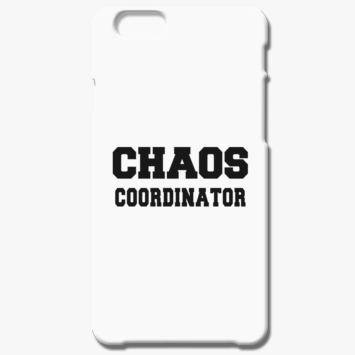 Chaos Coordinator Black Iphone 8 Plus Case
