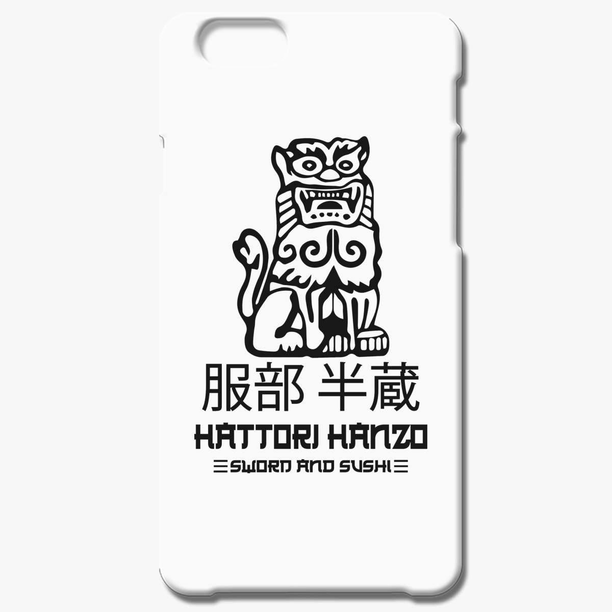 Hattori Hanzo Sword And Sushie Iphone 6 6s Plus Case