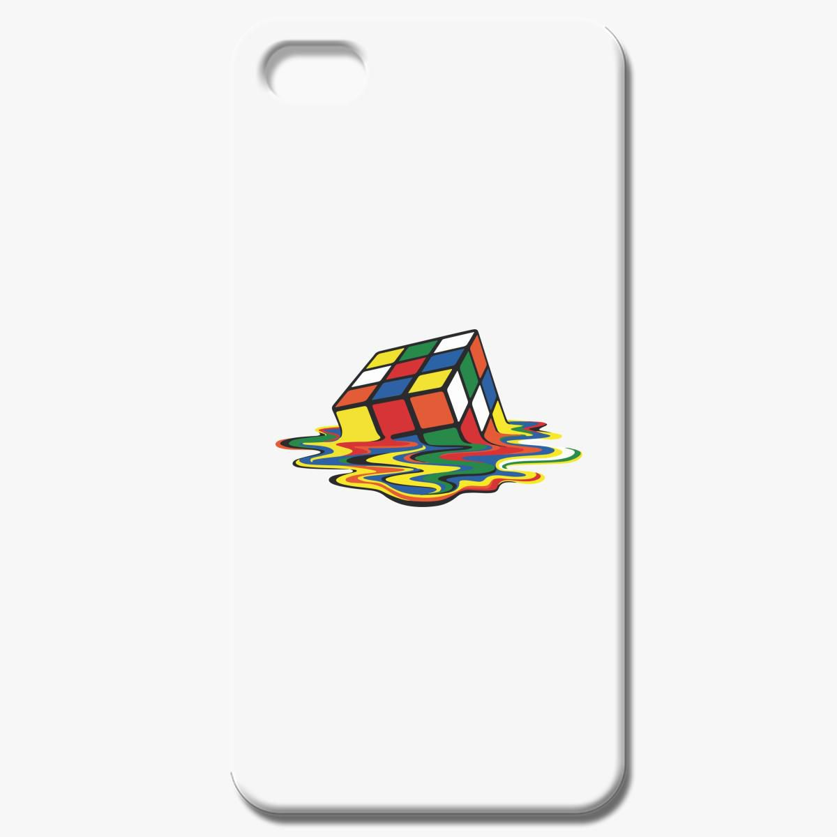 Melting Rubik S Cube Men S Comedy Iphone 8 Case