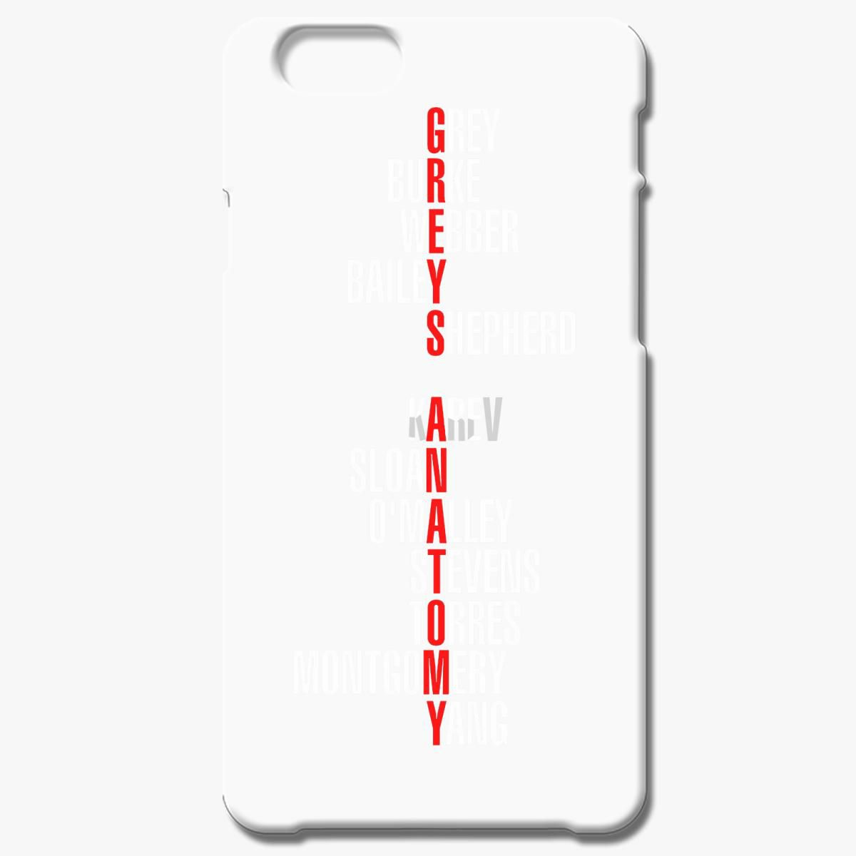Grey S Anatomy Early Cast Names Iphone 8 Plus Case