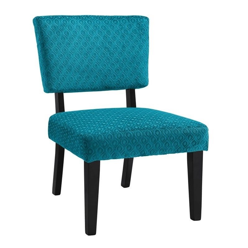 Teal Green Accent Chair