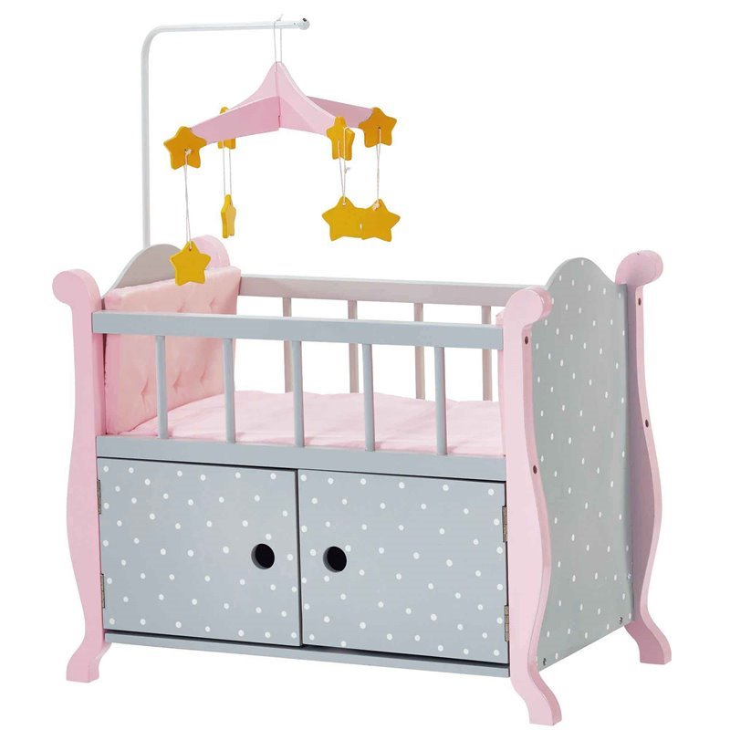 Olivias Little World Baby Doll Furniture Nursery Crib Bed