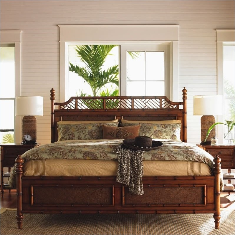 Tommy Bahama Home Island Estate West Indies Poster Canopy