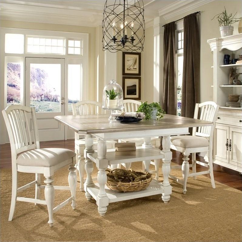 Riverside Furniture Coventry Two Tone Dining Table In