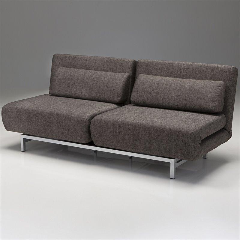 Tweed Sleeper Sofa Baci Living Room