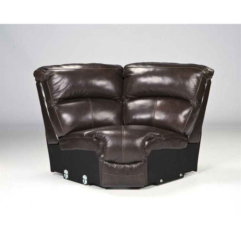 Ashley Furniture Damacio 5 Piece Leather Reclining