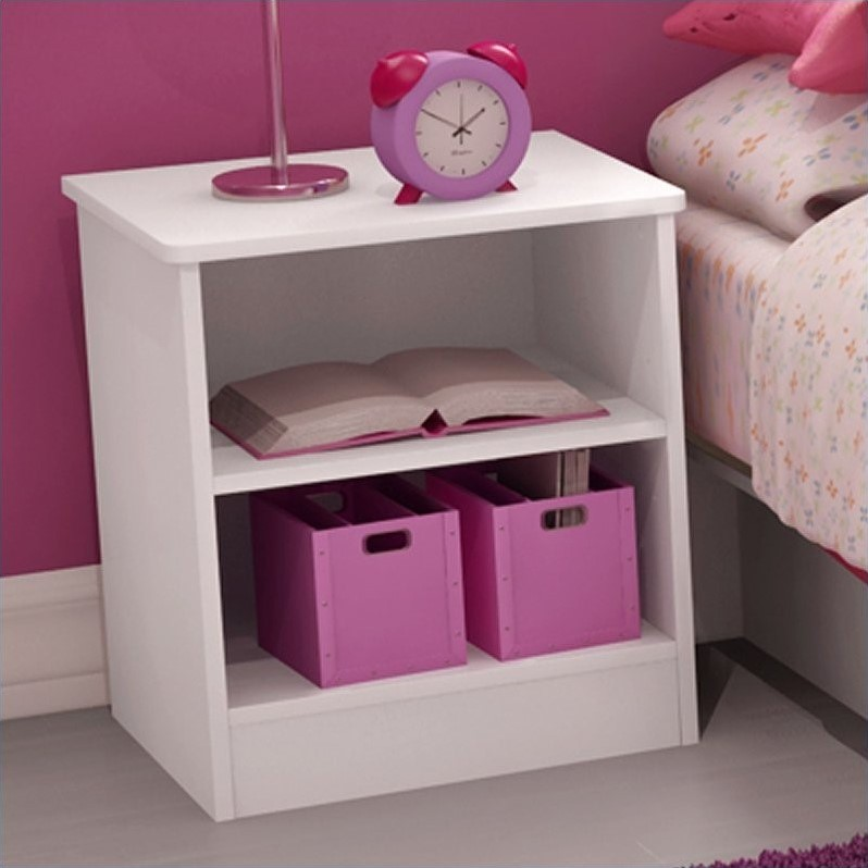 South Shore Libra Kids Nightstand In Pure White 3050059