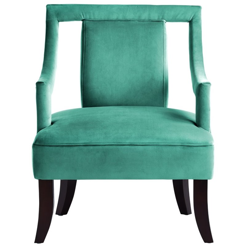 Teal Accent Chair Arms