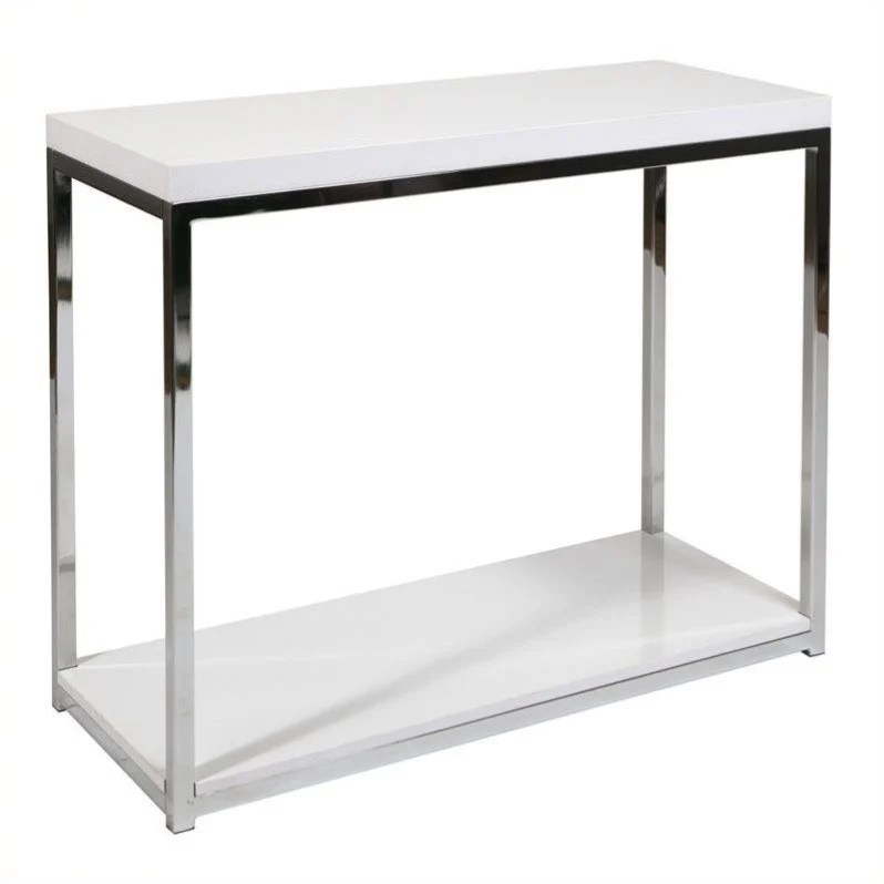 title   Foyer Table White