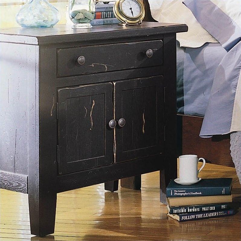 Broyhill Attic Heirlooms Vintage 1 Drawer Nightstand