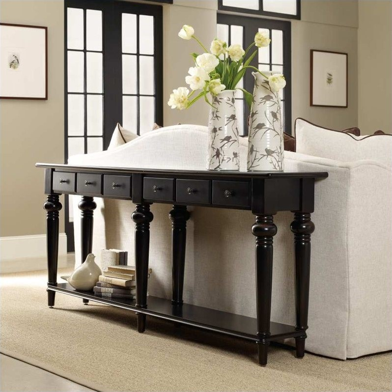 Hooker Furniture Sutherland Six Drawer Thin Console Table 5121 85001