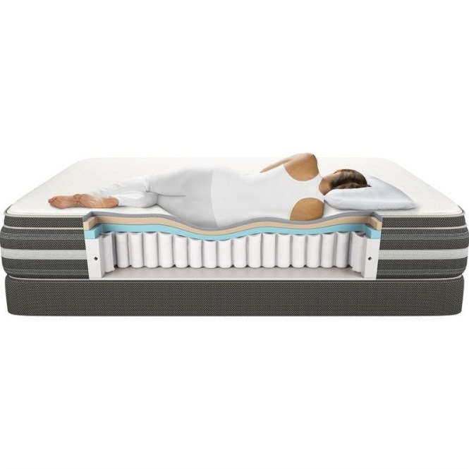 Beautyrest Recharge Hybrid Black Rock Plush Mattress