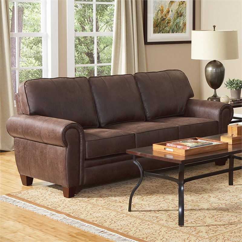 Microfiber Sectional Chaise Lounge