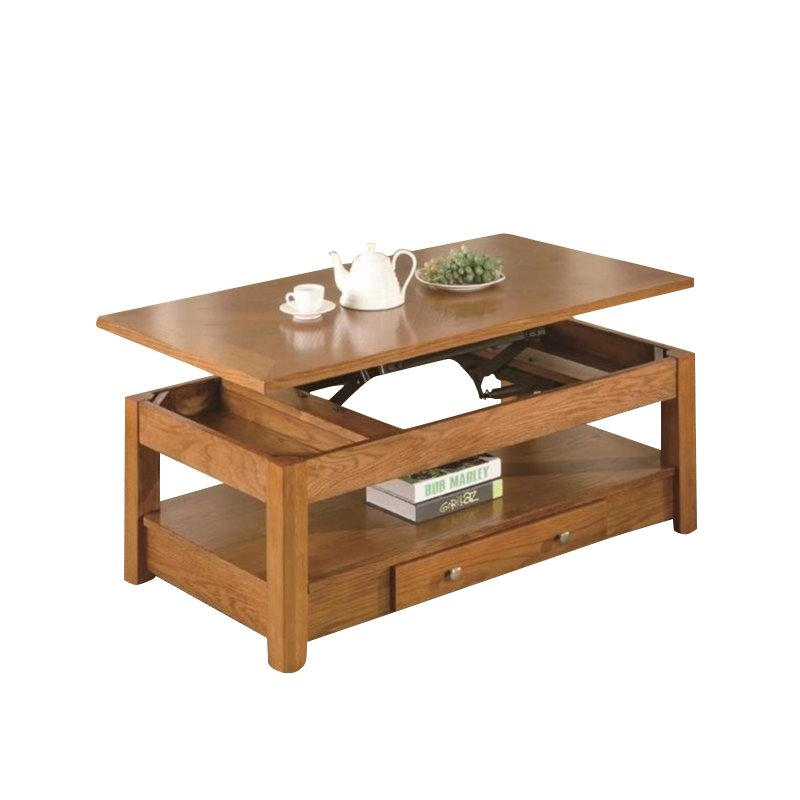 Coaster Occasional Group Lift Top Coffee Table In Oak 701438