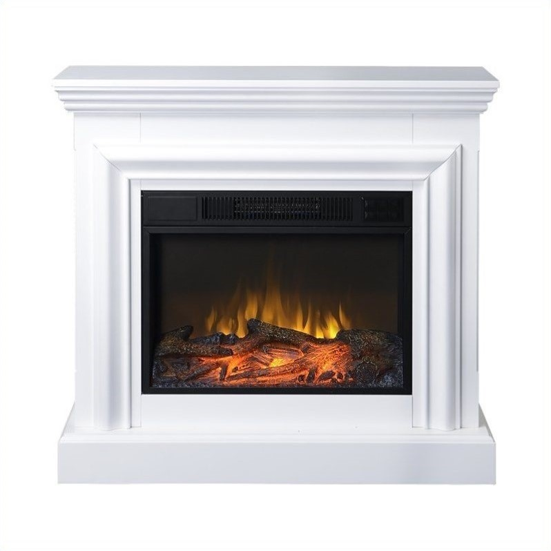 Fireplace Flame Ashley Freestanding Real