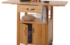 19+ Extremely Beautiful Dropleaf Kitchen Cart That Will Fit In All Styles