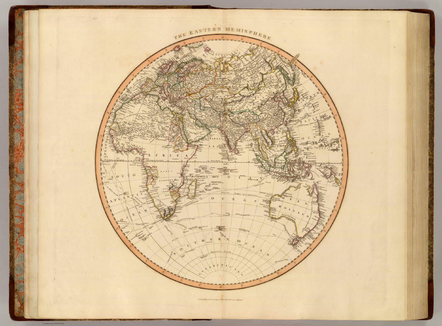 Eastern Hemisphere Blank Map