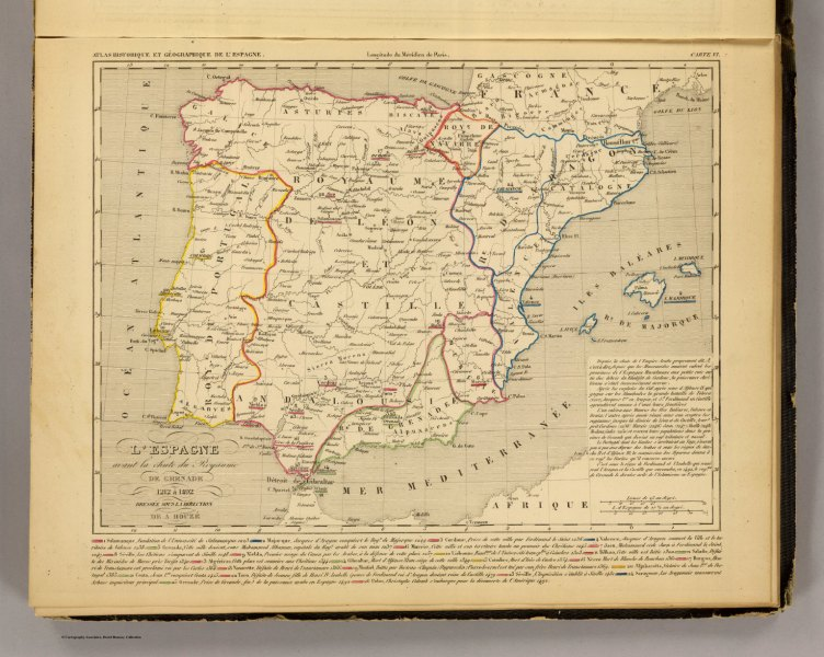L Espagne 1212 a 1492    David Rumsey Historical Map Collection