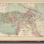 Turkey In Asia Asia Minor And Transcaucasia David Rumsey Historical Map Collection