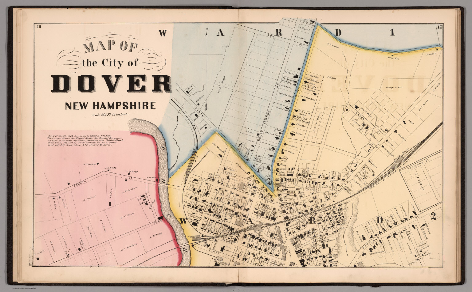 Map Of Dover New Hampshire