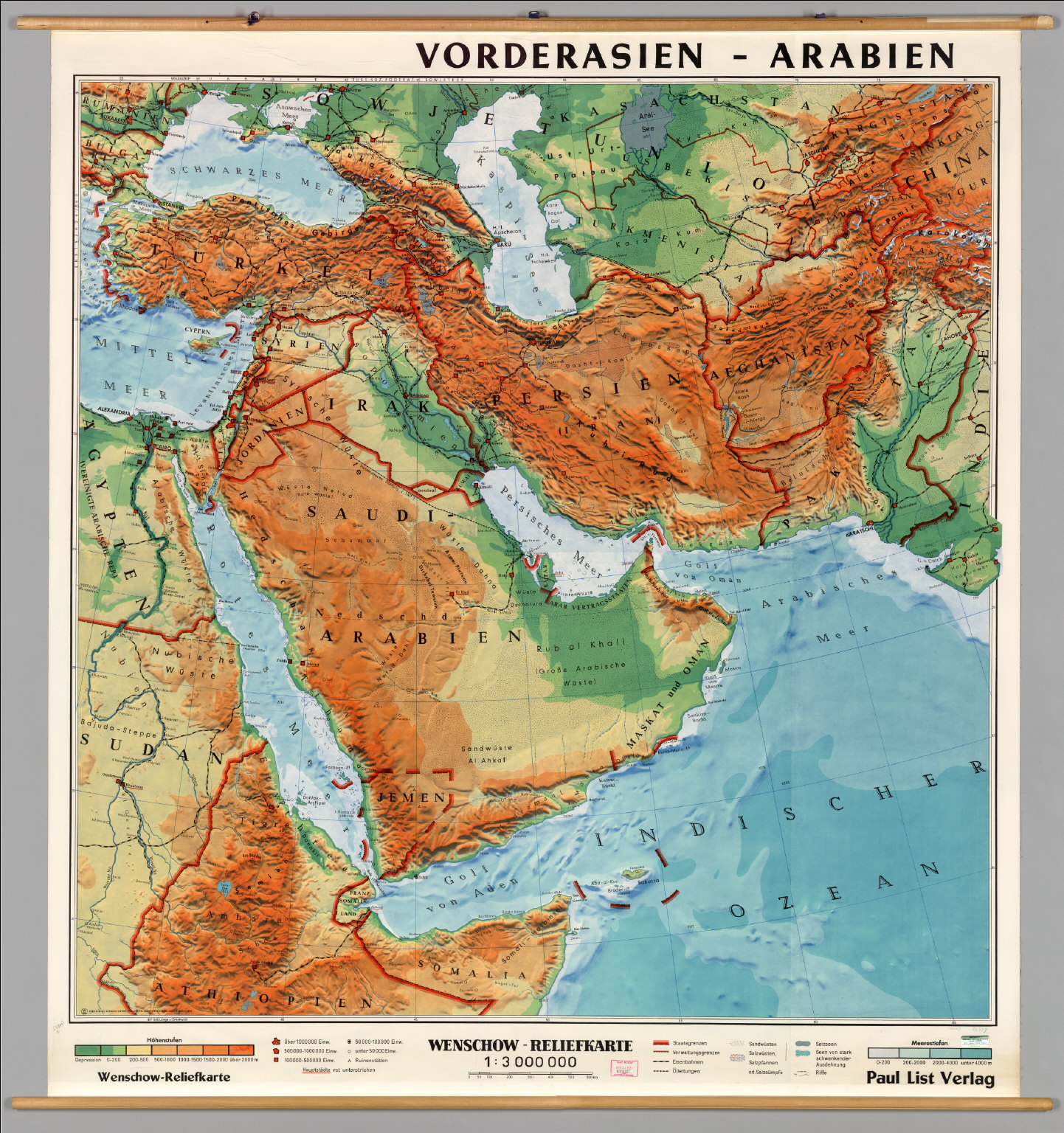 Blank Map Of Southwest Asia