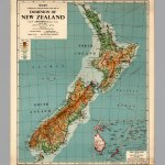 New Zealand Physical David Rumsey Historical Map Collection