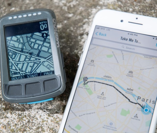 Neither Can Re Route You On The Fly Using Street Names The Bolt Will Also Let You Use Your Phone To Route To Any Point On The Map Garmin Does Not Have