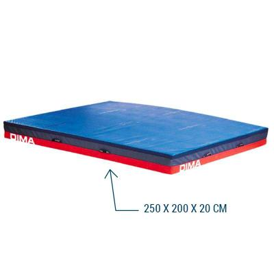 matelas de gymnastique reception dimagym 250x200x20 cm