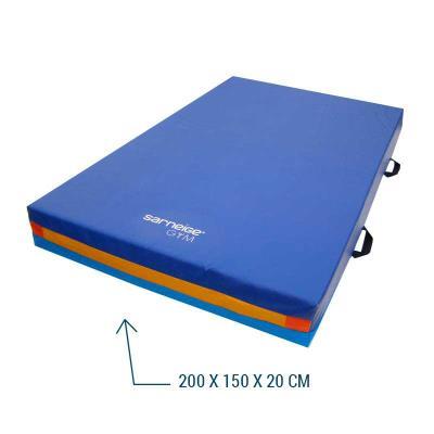 matelas gymnastique reception multi usages 200 x 150 x 20 cm
