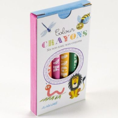 colour crayons Alan Grée - toyhood.co.uk