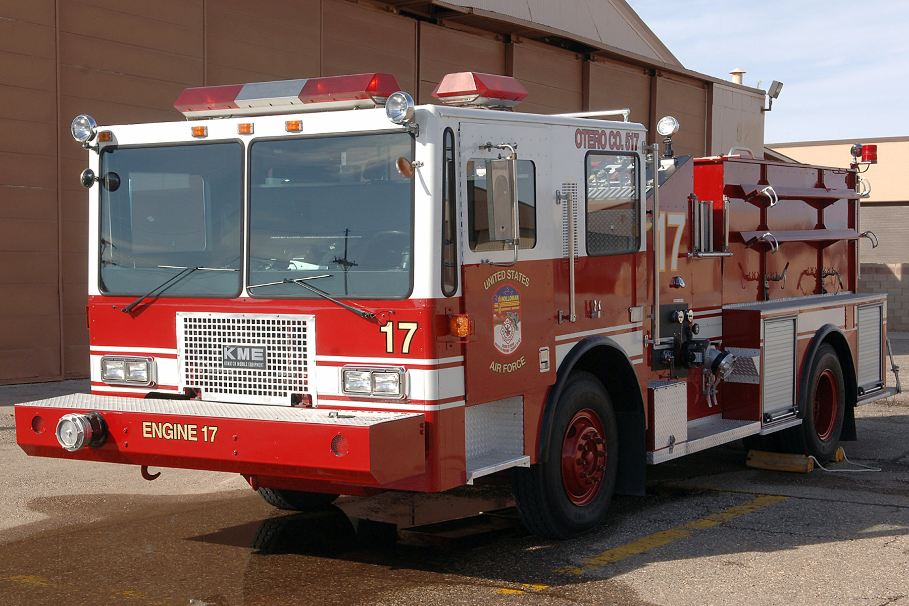 Holloman Units Combine To Refurbish Fire Truck Gt U S Air