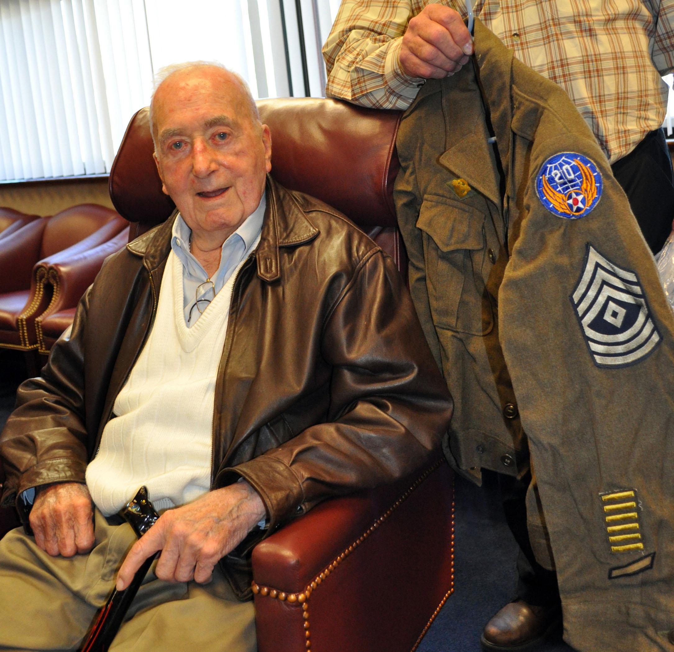 World War Ii Veteran Makes Donation To Travis Museum