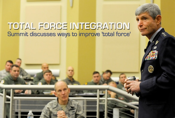 CSAF: Total force integration key to increased ...