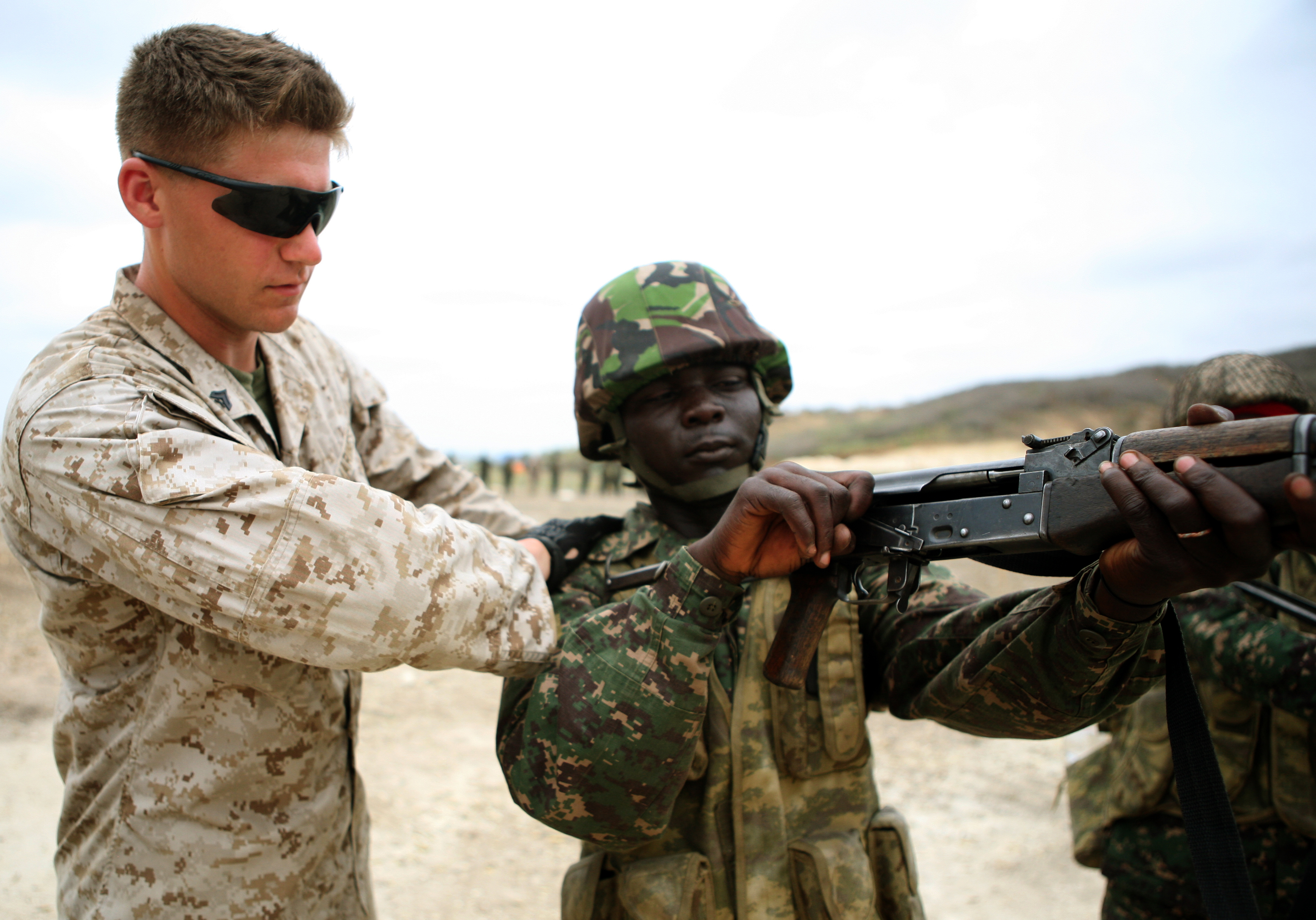 Marines And West Africans Train To Fight Together Gt Marine