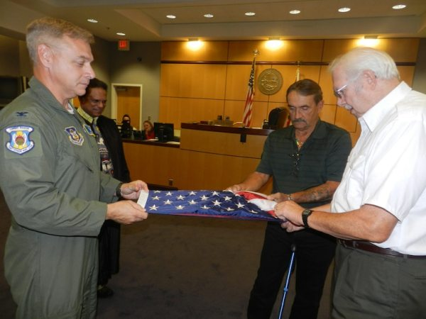 Rescue unit honors Florida judge with flag > Air Force ...