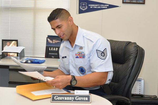 In his words: Tech. Sgt. Geovanny Govea > Dobbins Air ...