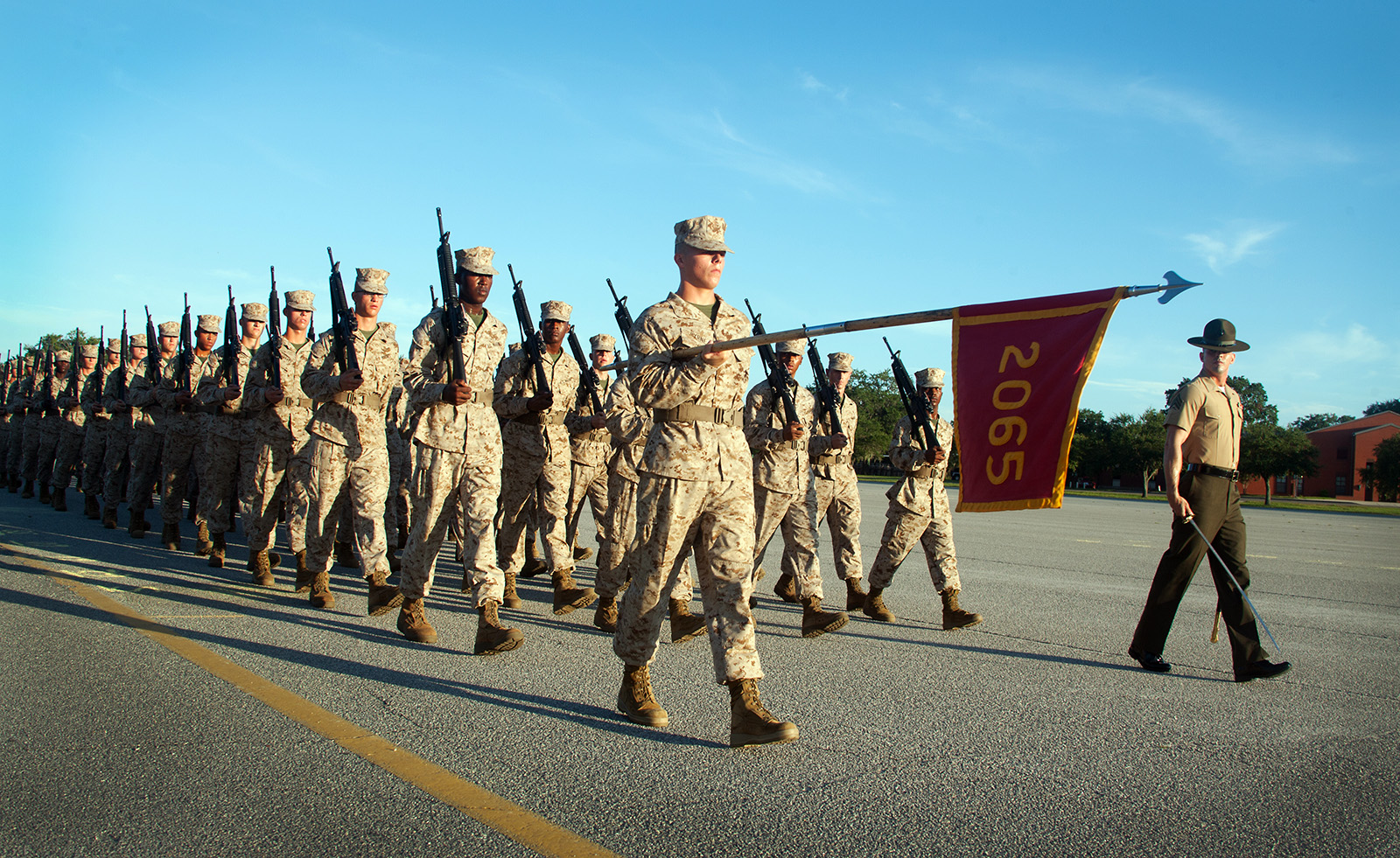Photo Gallery Marine Recruits Graded On Drill Performance