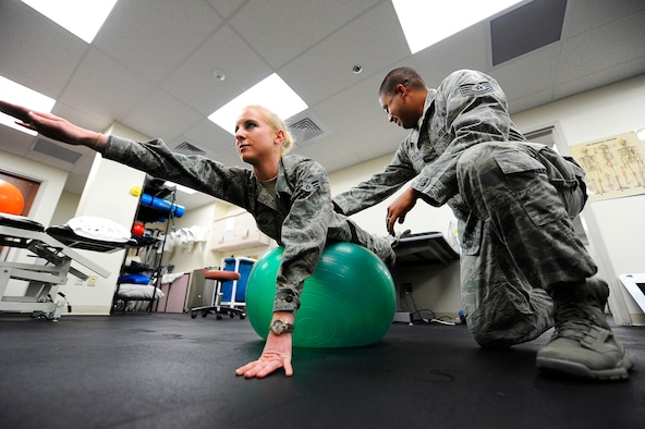 Recovery through physical therapy > Malmstrom Air Force ...