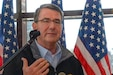 U.S. Defense Secretary Ash Carter meets with military family members on Incirlik Air Base, Turkey, Dec. 15, 2015. DoD photo by Army Sgt. 1st Class Clydell Kinchen