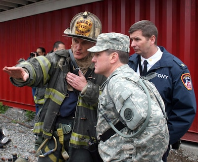 New York National Guard Exercise Tests Civilian And