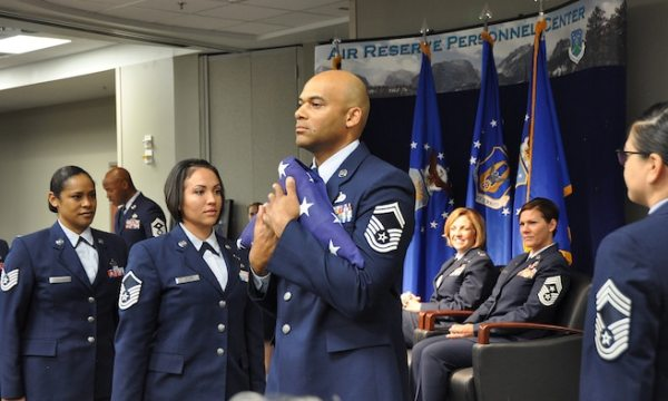 ARPC Command Chief celebrates 28 years of AF service > Air ...