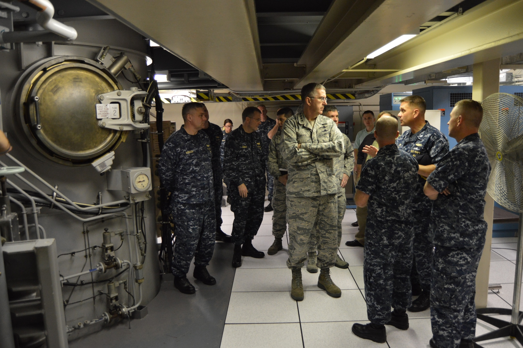 Usstratcom Commander Tours Trident Training Facility Ttf