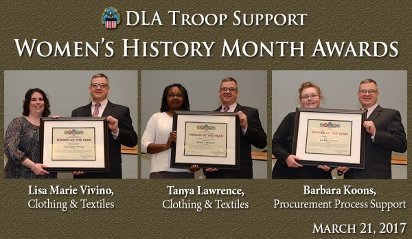 Troop Support 'trailblazers' honored at Women's History ...